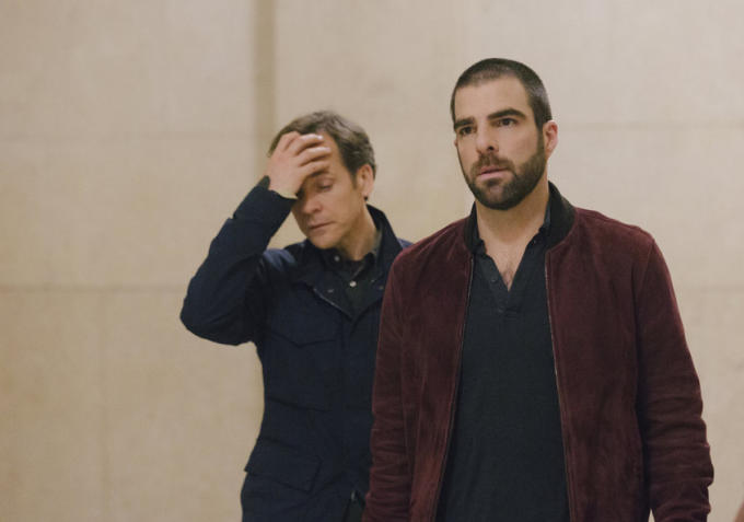 "Zachary Quinto in ""The Slap"""