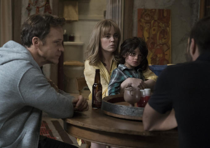 "Peter Sarsgaard & Melissa George in ""The Slap"""