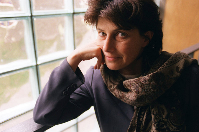 Chantal Akerman at the Carpenter Center for the Visual Arts at Harvard in 1998. Credit: Evan Richman for The New York Times