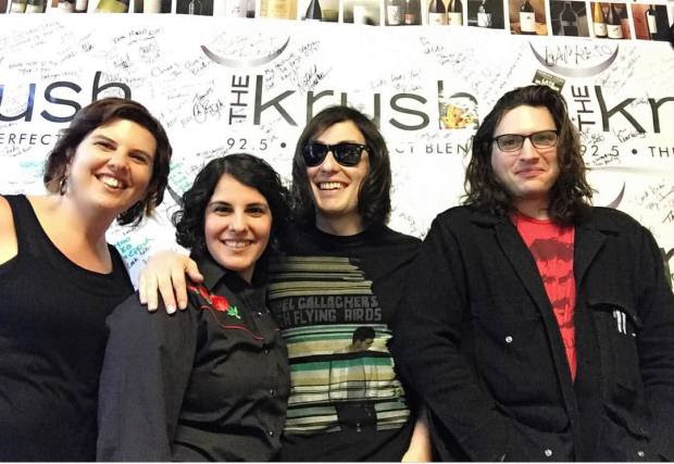 Radio interview at 92.5 FM The Krush in San Luis Obispo.