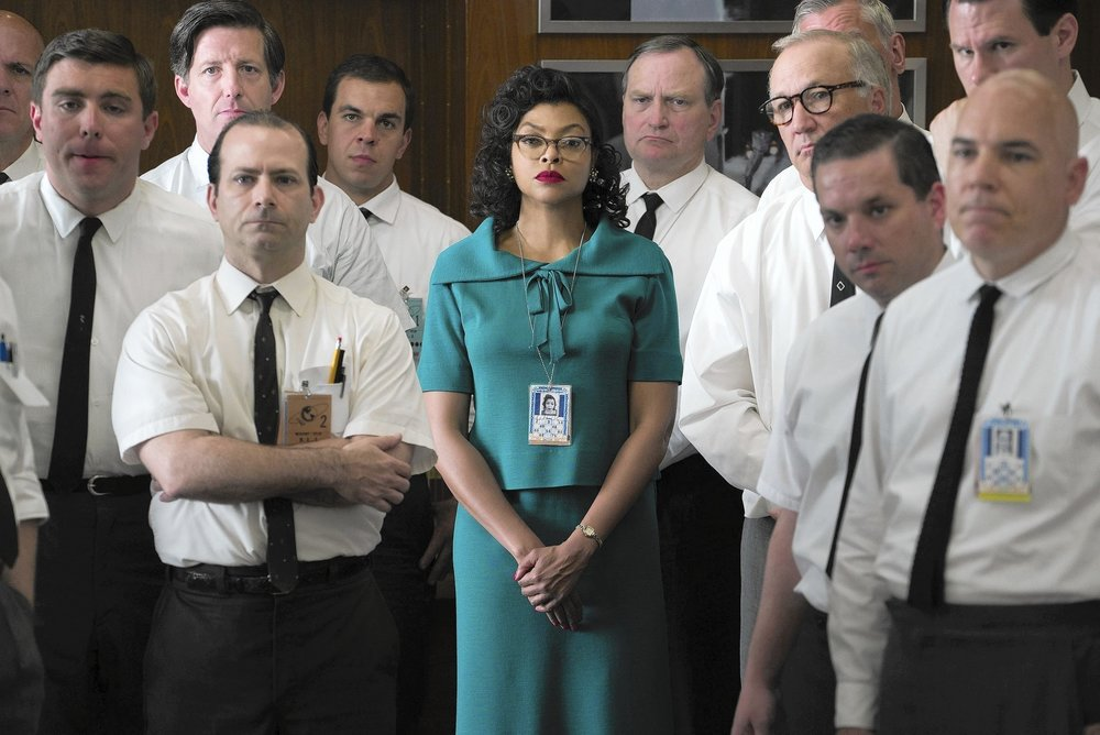 "Katherine Johnson (Taraji P. Henson) in ""Hidden Figures."" / TWENTIETH CENTURY FOX"