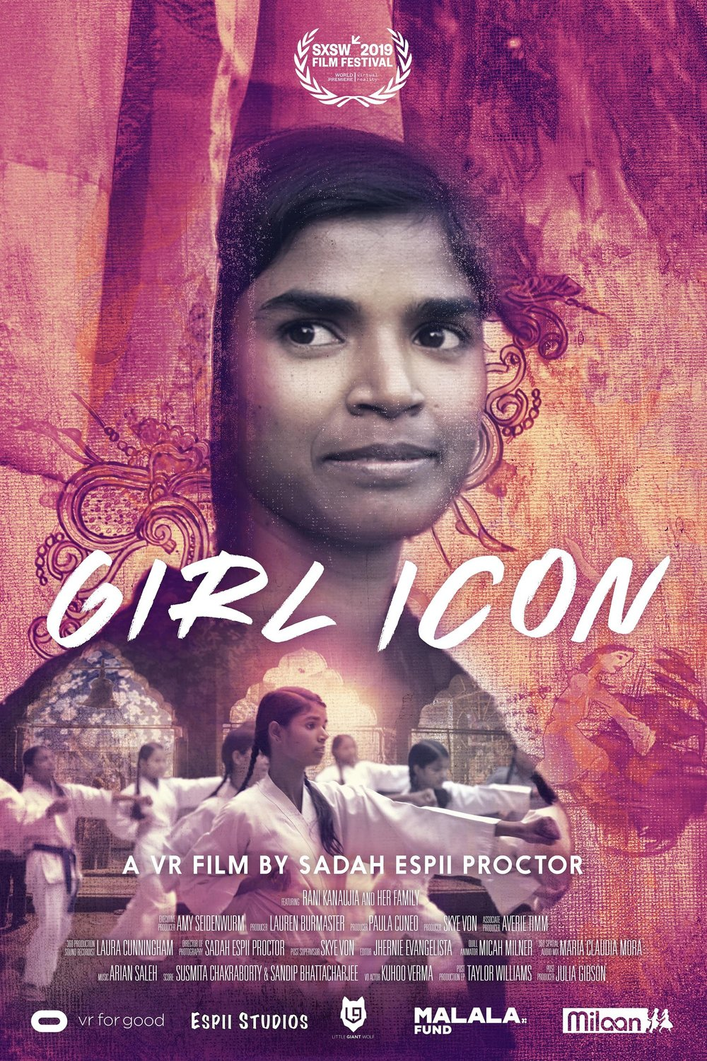 "Official ""Girl Icon"" Poster by  Gary Claire"
