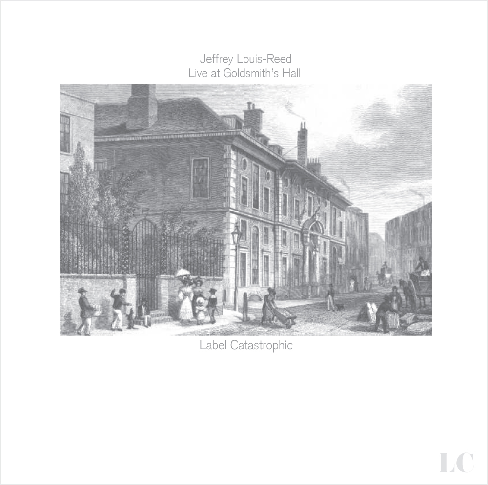 Jeffrey Louis-Reed Live at Goldsmith's Hall [full LP, solo piano] Download link - Music + artwork http://www.goo.gl/ALmHw @disastronaut