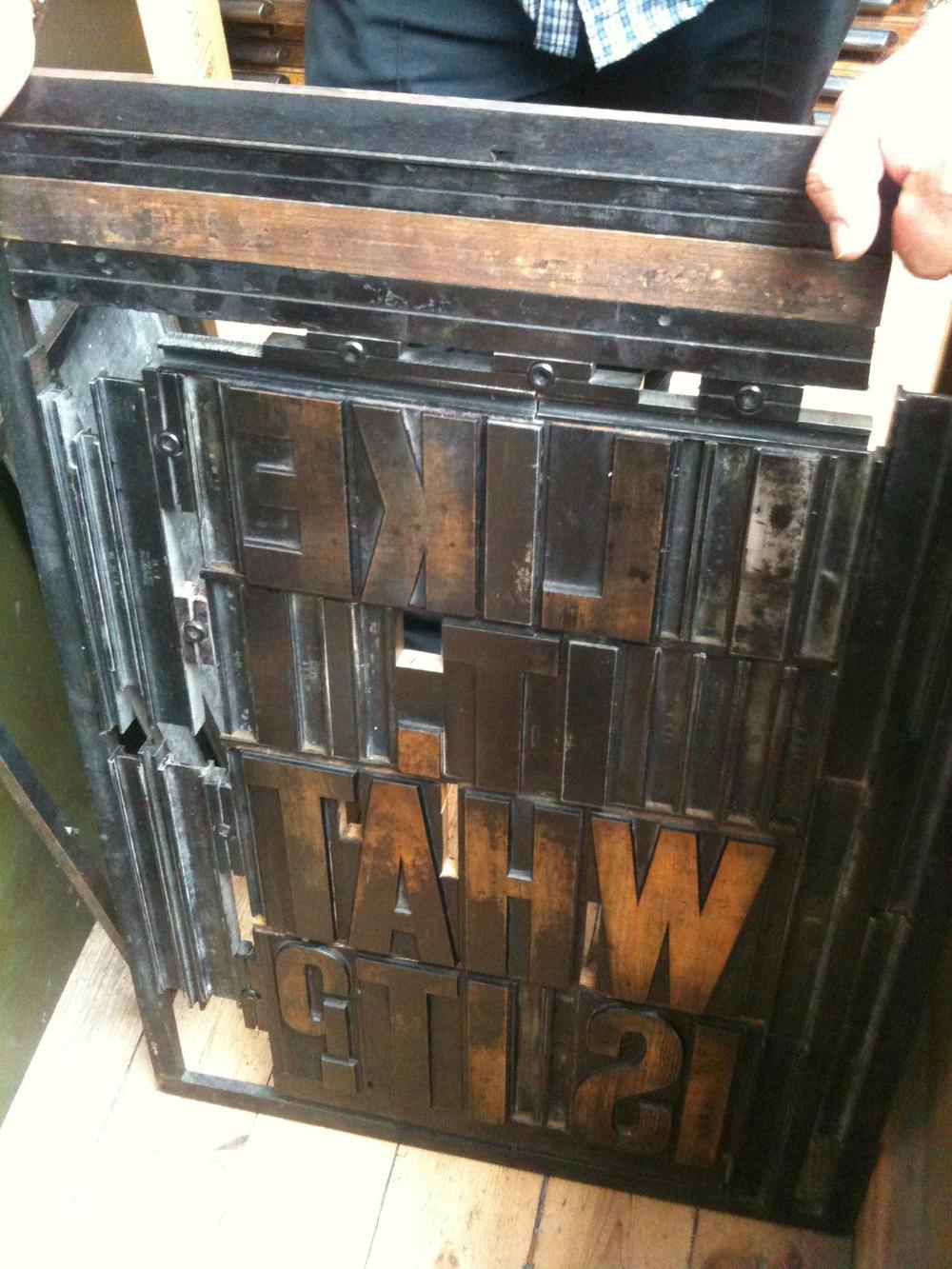 ADAMS OF RYE [artistic printers]