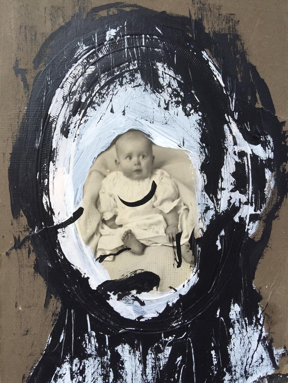 photo painting - Tokyo Wishless Gallery 2015