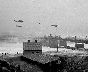 Luftwaffe over Aalborg.