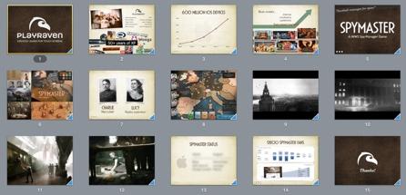 TOP SECRET: PlayRaven & Spymaster business slides.