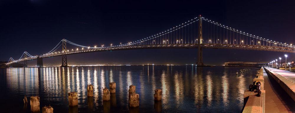 Photo of San Francisco Bay Bridge by Joe Parks