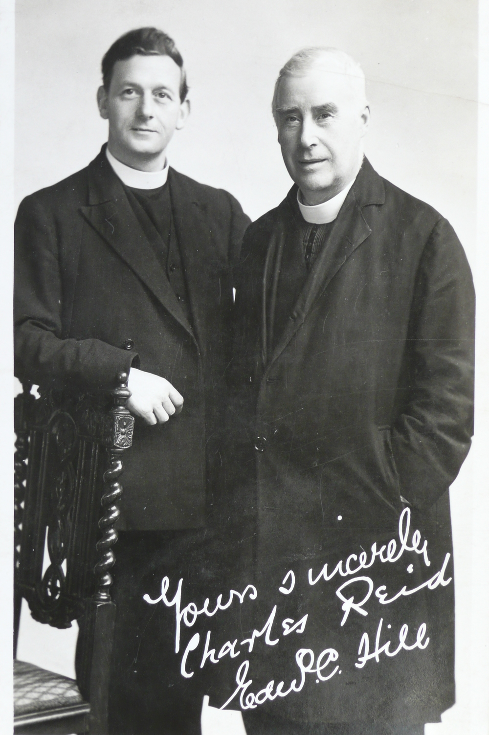 Fr Reid and Fr Hill