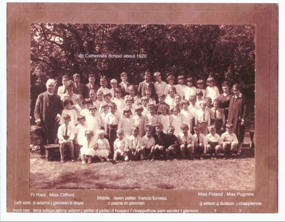 Parish past 13 St Catherine's School children 4.JPG