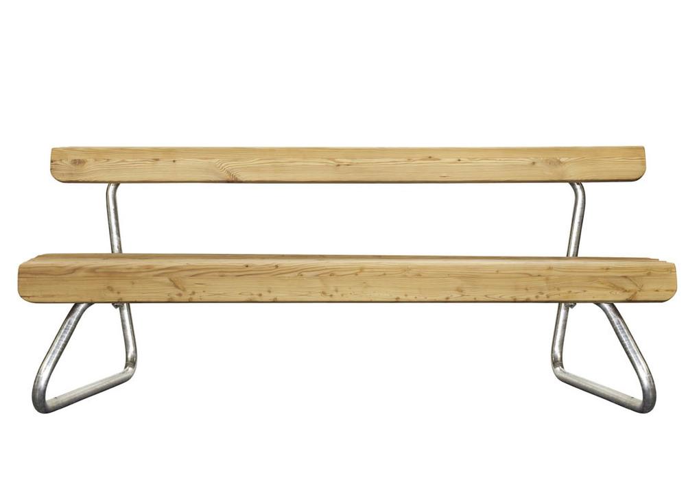 Wiener alpen bench walking chair design studio gmbh for Walking chair design studio vienna