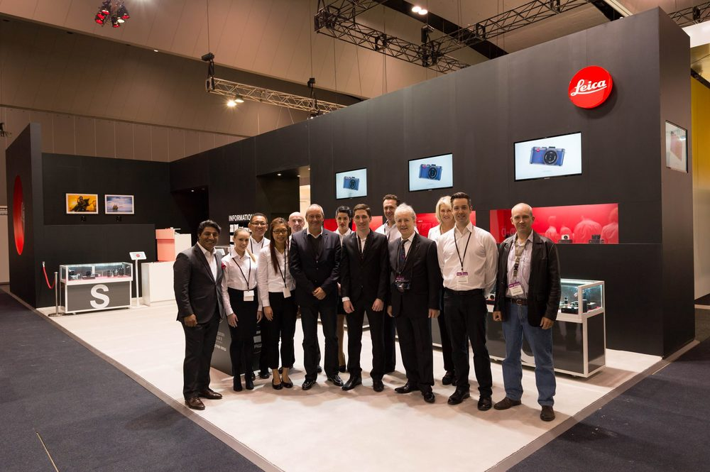 The Leica team at The Digital Show 2013 in Melbourne, Australia