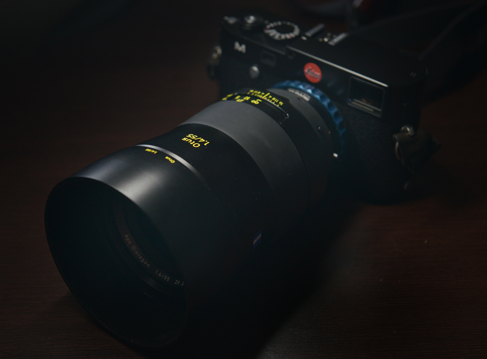 Zeiss Otus on Leica M240