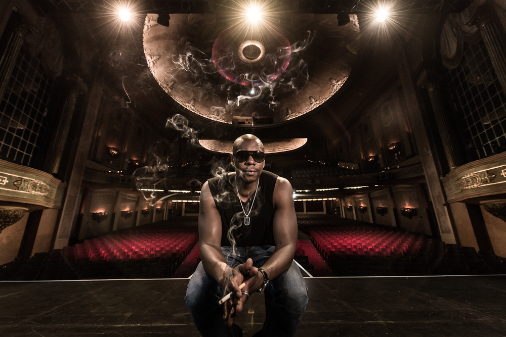 Dave Chappelle at the Palais Theatre in Melbourne, Australia