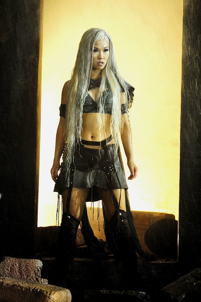 Here Selina Lo is seen in Scorpion King 3