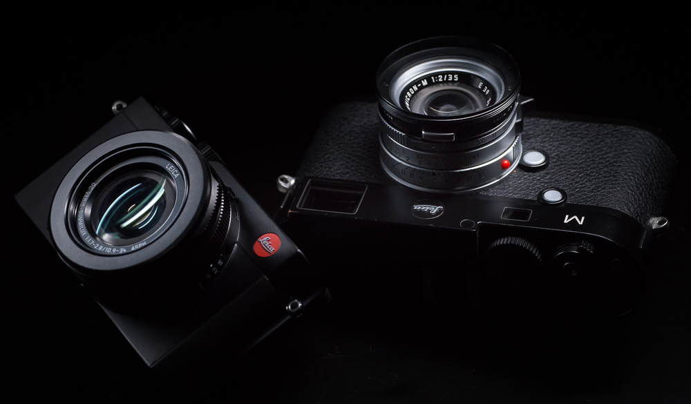 Leica D-Lux (typ109) and Leica M (typ240)