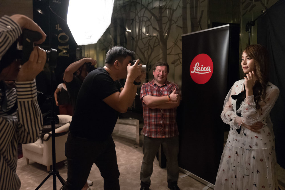 Oliver Vogler during his exclusive Leica SL workshop in Bangkok