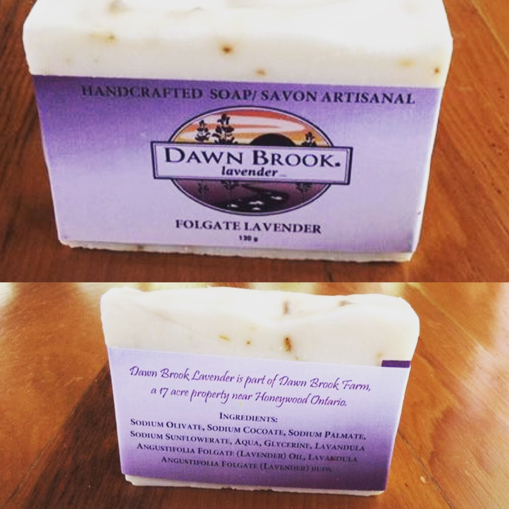 Dawn Brook Lavender Soap