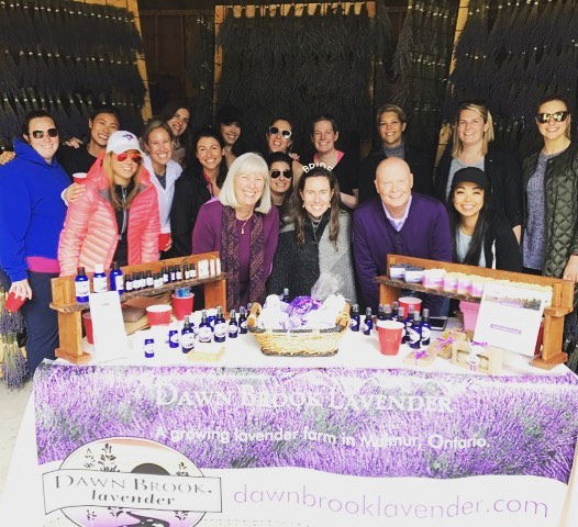 Bachelorette party at a Lavender farm? Why not?!! Thanks for visiting #nathullslastcall ! #lavender #bacheloretteparty