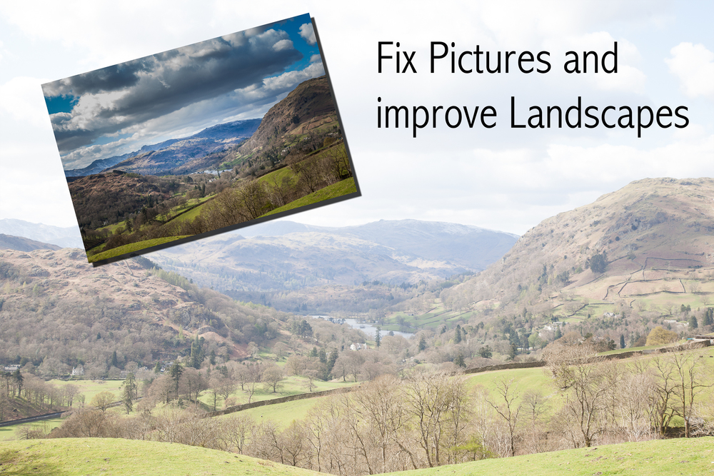 Learn how to use photoshop in Grimsby and Louth area, to help master landscapes and produce stunning pictures