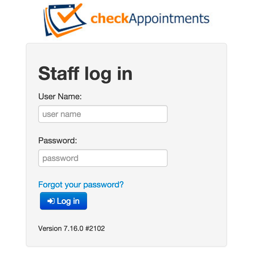 Sign up for an account and login