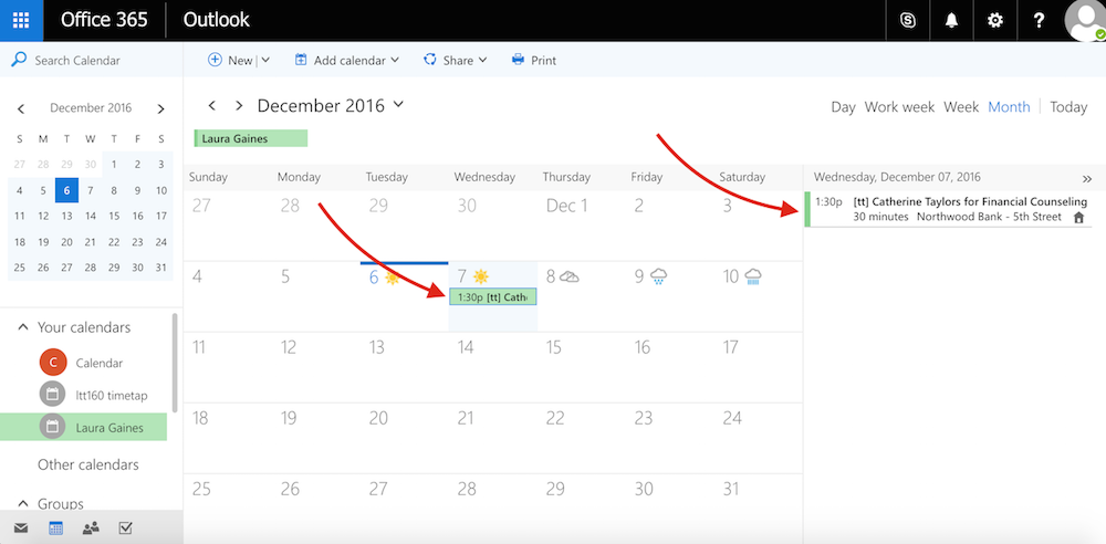 Sync your TimeTap appointments with Microsoft Outlook