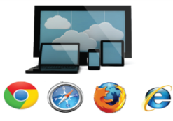 Web Bases access from any Browser
