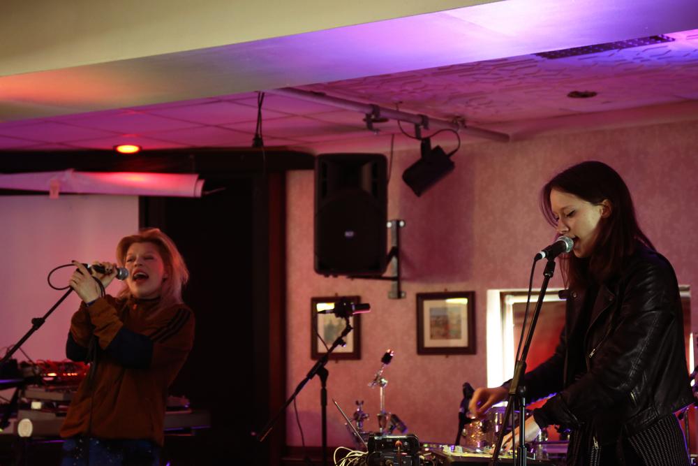 Helsinki/Berlin sister duo LCMDF