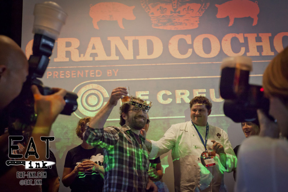 2012 Cochon 555 King of Porc Championship winner Jason Vincent