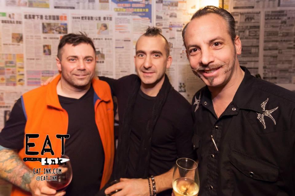 Ed McFarland, Marc Forgione, Francesco Palmieri