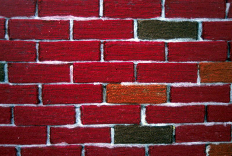 Brick Wall detail
