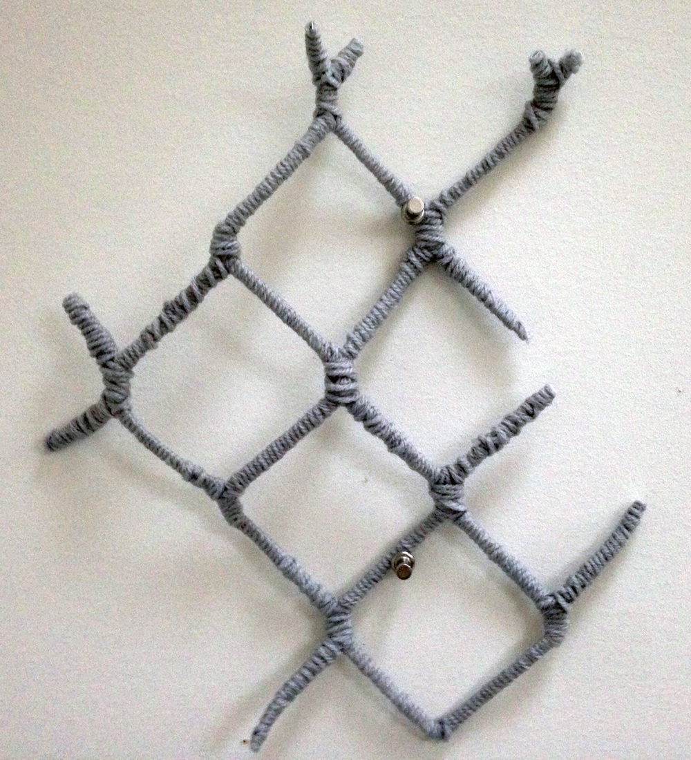 Chain-link, fragment 1, 2014