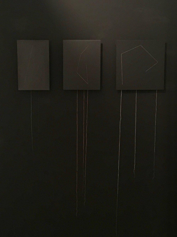 Installation of three, 2017