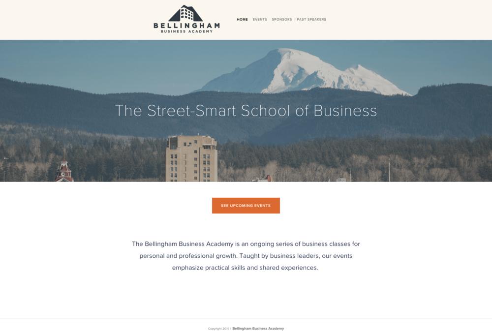 BBA-homepage