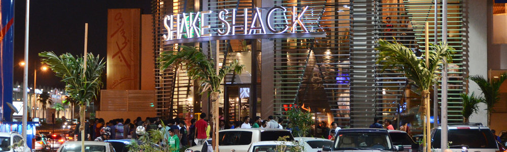 Shake Shack, Jeddah, KSA, Le Mall. 2012 -