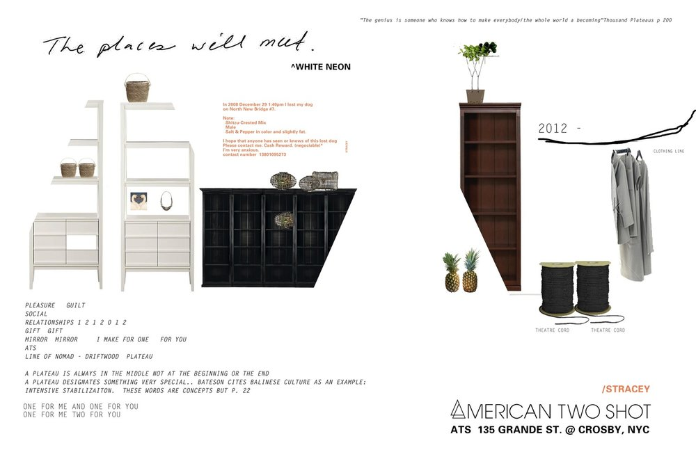 American Two Shot, Grande Street at Crosby New York, New York Retail Concept Design and Build