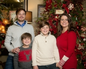 David, Jennifer, Isaiah and Spencer thank you for your support of their family owned and operated small business. Photo Credit to Butler Studio.