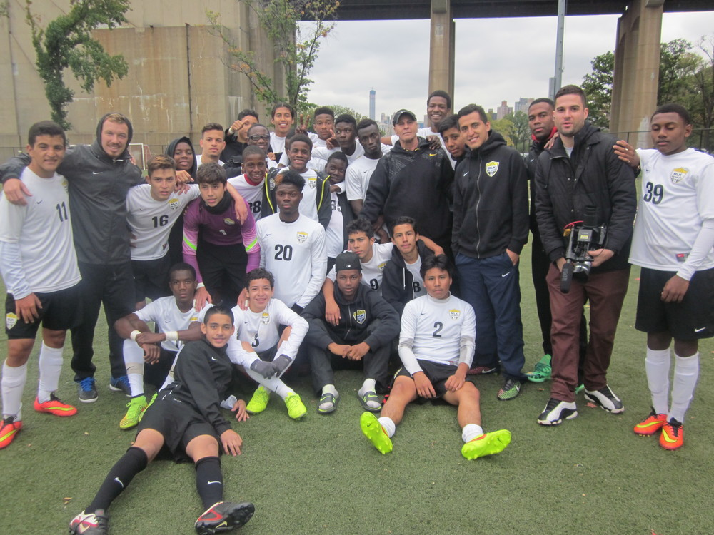2014 Martin Luther King, Jr. High School Soccer Team 400 games won, team picture!