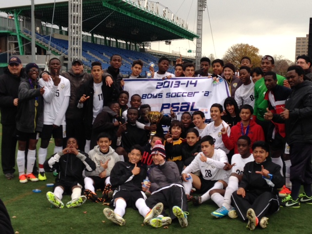 2013-2014 PSAL Championship Game Picture.