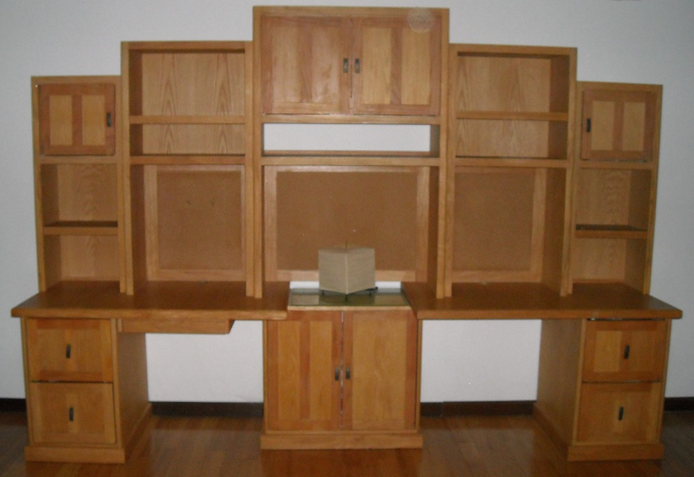 Creative example of modular wall unit.