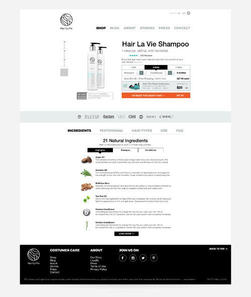 Hair La Vie Website Valle Artiga