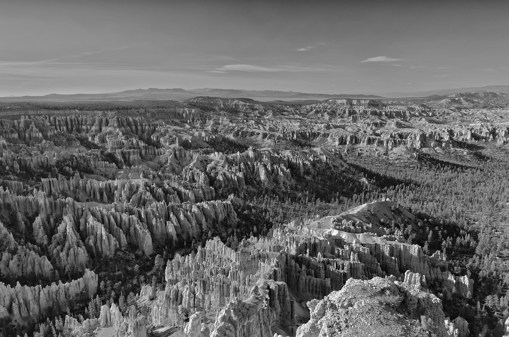The Amphitheater in Bryce Canyon National Park from Bryce Point