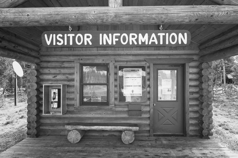 The Flagg Ranch Information Station was shut down this year. This station was the first place to get park information when coming from Yellowstone.