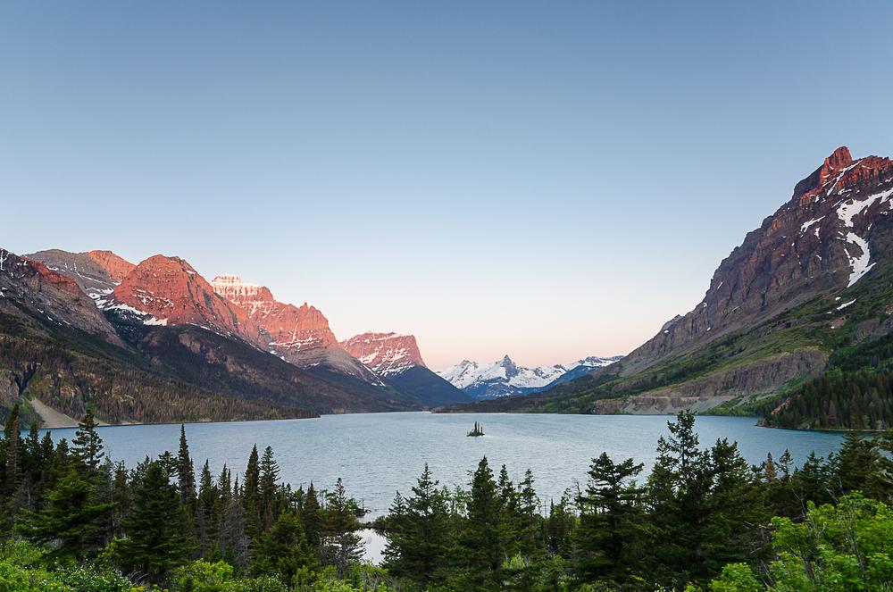 St. Mary Lake, Glacier