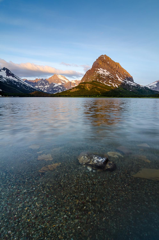 Swiftcurrent Lake, Glacier