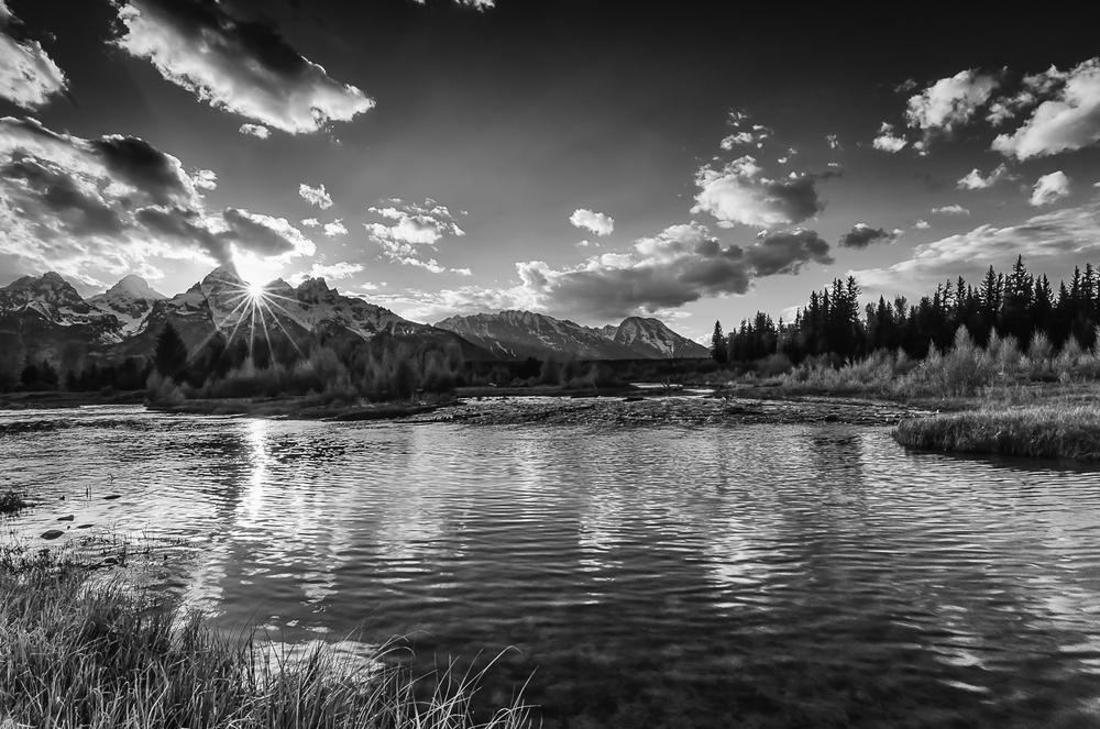 Teton Sunburst, Grand Teton