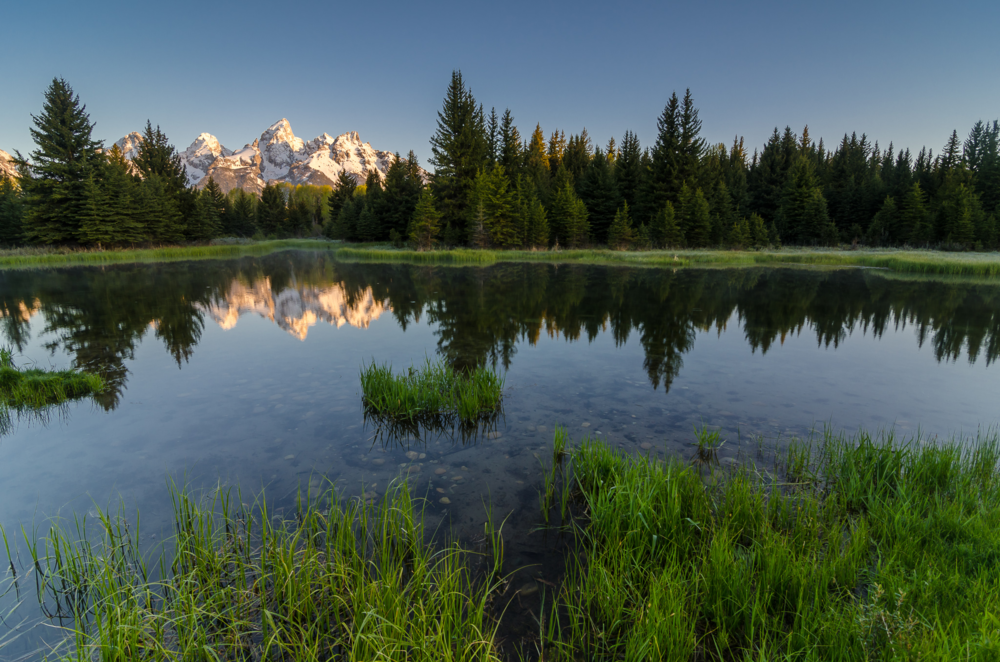 Schwabacher Landing at Sunrise