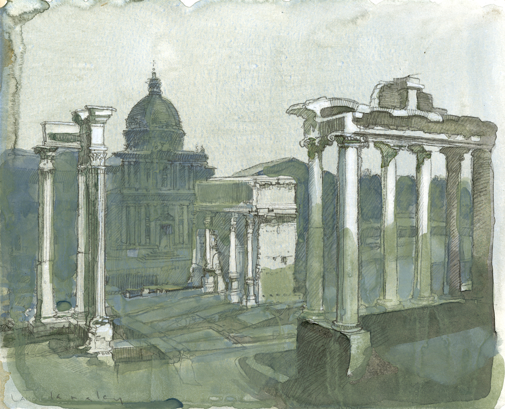 Arco Septimus Severus Roma