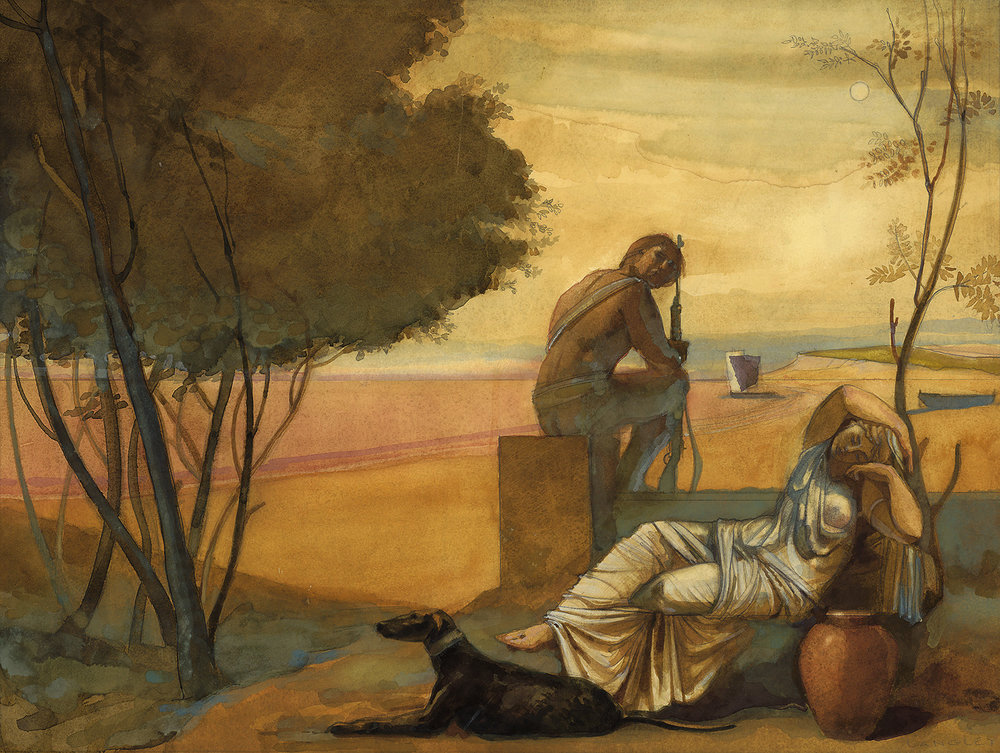 Ariadne and Theseus  on Naxos.jpg