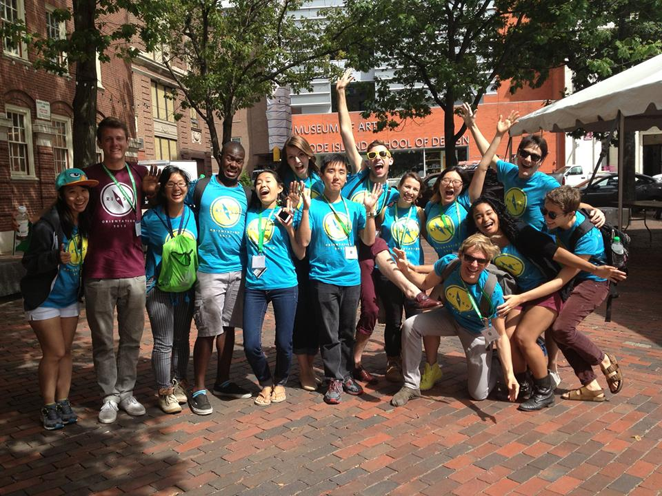 Your Orientation Leaders will be your guide through your first days at RISD.